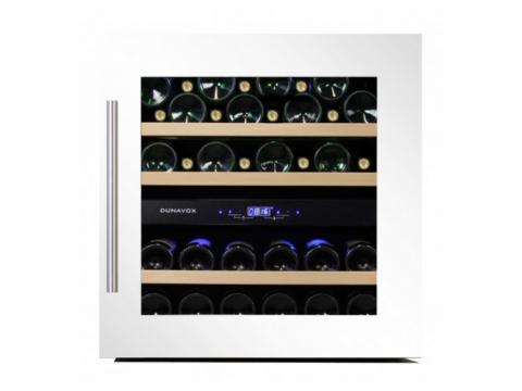 Integreeritav valge tööpinnaalune kahe tsooniga veinikülmik