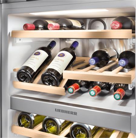 Liebherr eraldiseisev veinikülmik - sügavkülmik SWTNES4285-21