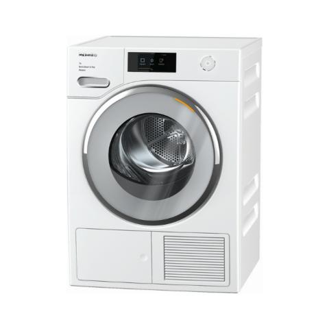 Miele soojuspumbaga säästlik SteamFinish 9kg pesukuivati TWV680WP