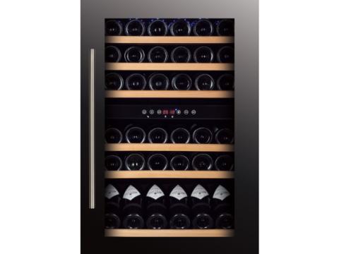 Must K88.5cm kahe tsooniga veinikülmik Temptech püstakusse