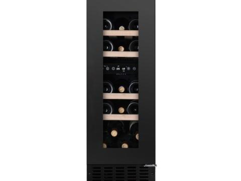 Must tööpinnaalune L30cm kahe tsooniga veinikülmik Temptech