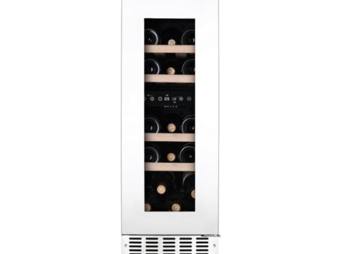 Valge tööpinnaalune L30cm kahe tsooniga veinikülmik Temptech