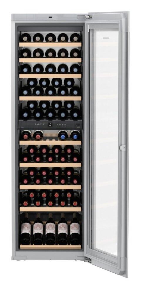 Veinikülmik Liebherr Vinidor valge integreeritav K178cm (maht 83 pudelit)