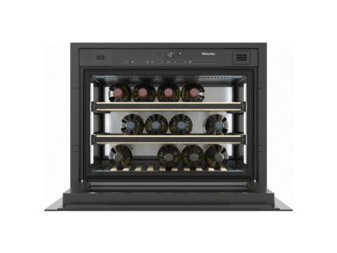 Miele integreeritav (18 pudelit) veinikülmik nõudlikule veiniarmastajale